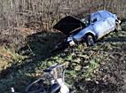 Árokba csapódott egy autós Hajdúszoboszló és Nádudvar között