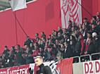 Kisvárda-szurkolók a DVSC-Kisvárda mérkőzésen - haon.hu