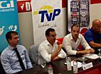 DVSC-TVP sajtótajékoztató, Papp Lászlói