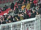 Szurkolás a DVSC Videoton meccsen