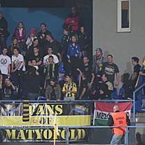 A Kövesd ultrái a Mezőkövesd-DVSC meccsen - haon.hu