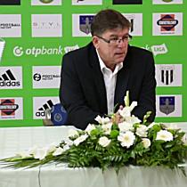 Herczeg András értékelése a Haladás DVSC mérkőzés után HAON.HU