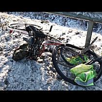 Halálos kerékpáros gázolás a 33-as főúton - haon.hu