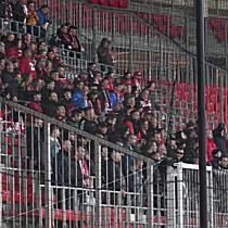 A DVTK ultrák a DVSC-DVTK mérkőzésen - haon.hu