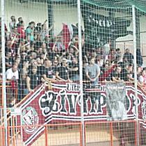 Debreceni ultrák a Balmaz ellen
