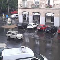 Jégeső Debrecenben
