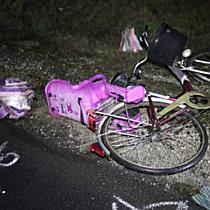 Halálos kerékpáros gázolás Hajdúdorog határában