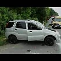 Felborult egy autó Hajdúszoboszló és Nádudvar között - haon.hu