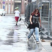 Esővel érkezett a lehűlés Debrecenbe