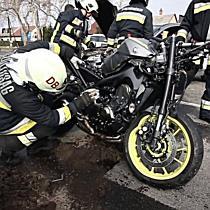 Motoros baleset a Kishegyesi úton - haon.hu