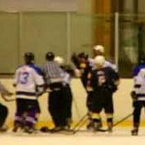 DHK - UTE jégkorong mérkőzés