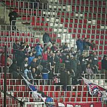 Vidisták a Nagyerdei Stadionban a Loki ellen