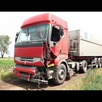 Két kamion karambolozott a 47-es főúton Tépénél - haon.hu