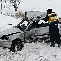 Halálos baleset Mezőpeterdnél