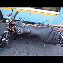 Motor és troli ütközött a Burgundia utcán - haon.hu