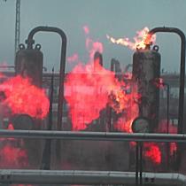 Belobbant a gáz a nagyhegyesi földgáztárolóban - haon.hu