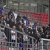 UTE ultrák a DVSC-UTE mérkőzésen - haon.hu
