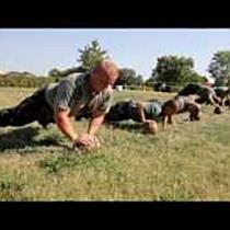A tengerészgyalogos edzésprogram a lövészdandárnál