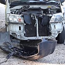 Ráfutásos baleset a 4-es főúton - haon.hu