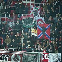 Debreceni ultrák a Videoton ellen