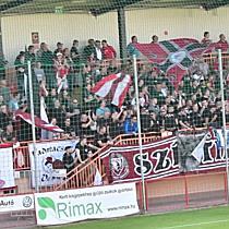 A DVSC szurkolók a Balmazújváros DVSC mérkőzésen - haon.hu