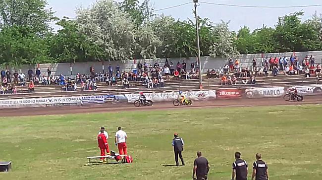Salakmotor egyéni magyar bajnokság Debrecenben, Döntő