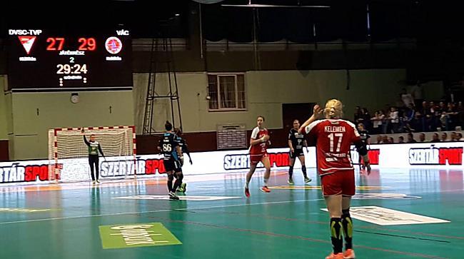 DVSC-TVP-VÁC női kézilabda bajnoki