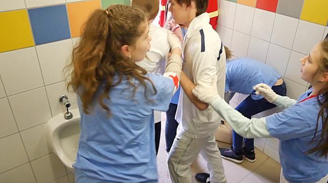 Területi elsősegélynyújtó verseny iskolásoknak - haon.hu