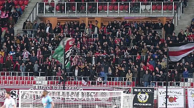 A Loki ultrái a DVSC-Vidi FC Magyar Kupa visszavágón - haon.hu