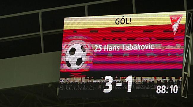 A harmadik hazai gólöröm a Loki - DVTK meccsen