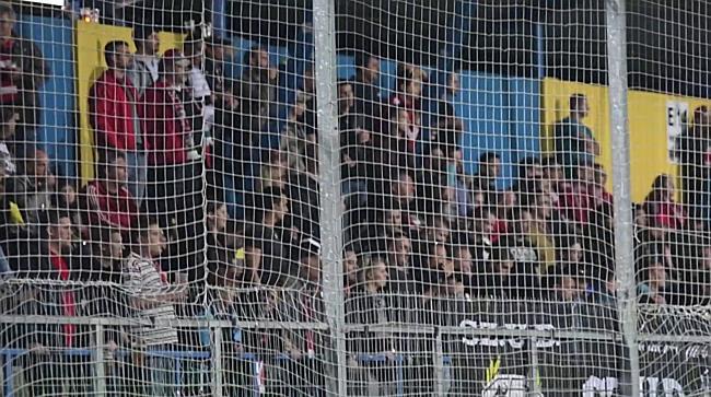 A Loki ultrák a Mezőkövesd-DVSC mérkőzésen - haon.hu
