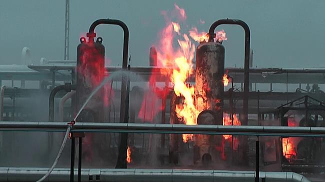 Belobbant a gáz a nagyhegyesi földgáztárolóban II. - haon.hu