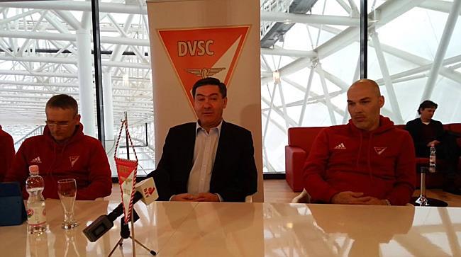 DVSC sajtótájékoztató, Szima Gábor