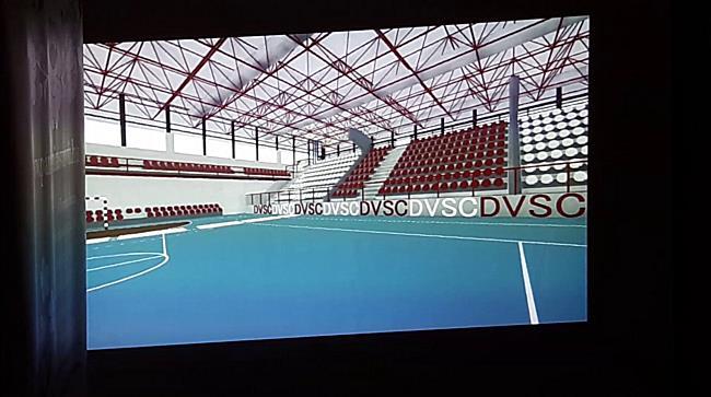 DVSC-TVP sajtótajékoztató, az új Hódos